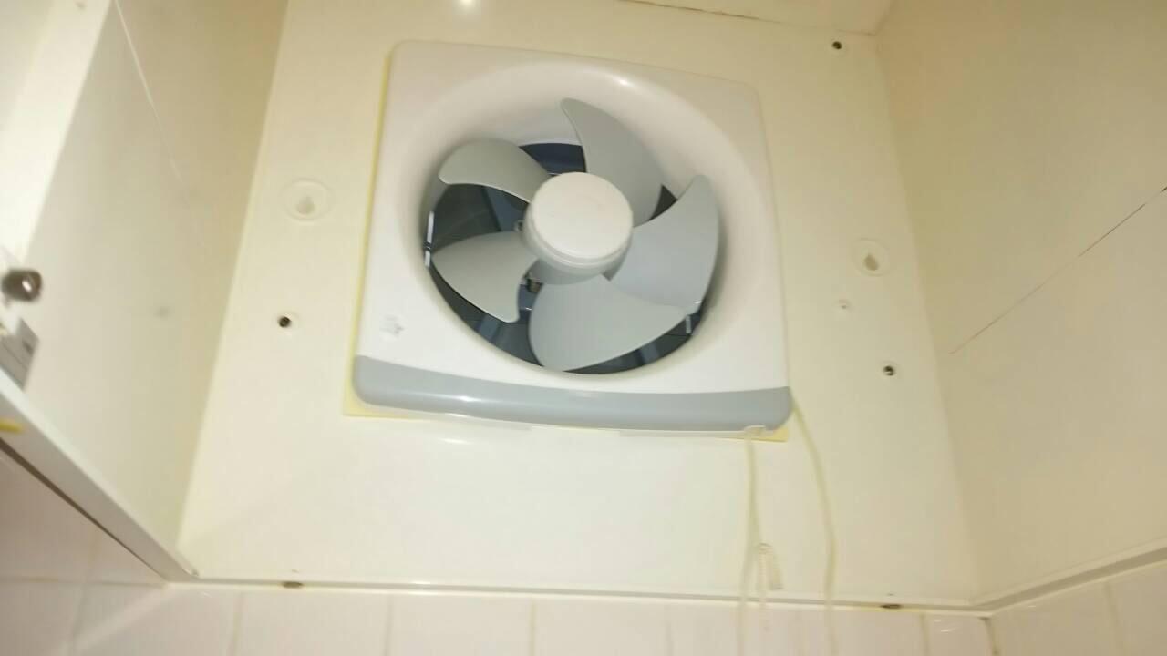 キッチン換気扇クリーニング